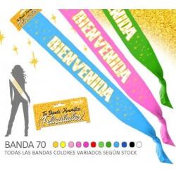 Banda Bienvenida (Purp.) 70...