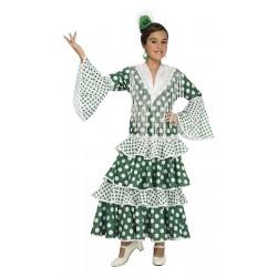 Disfraz de Sevillana Verde...