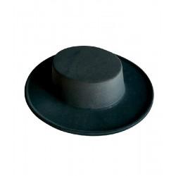 Sombrero Cordobes Flocado Adulto