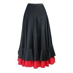 Falda Flamenca Volantes...