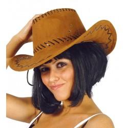 Sombrero Vaquero Antelina Marrón