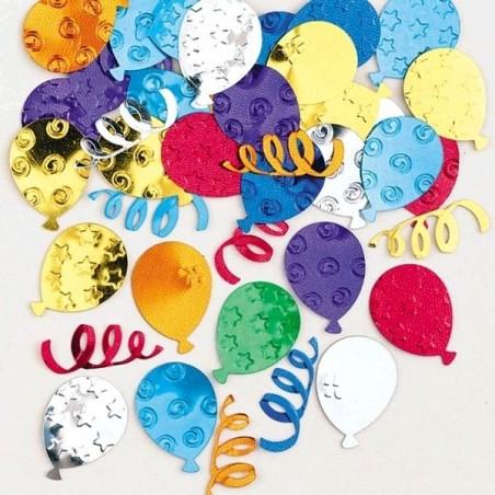 Confeti Forma de Globos