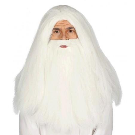 Peluca y Barba Blanca
