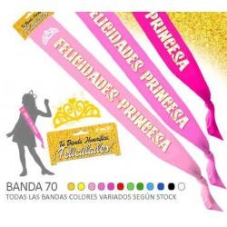 Banda 70 Felicidades Princesa