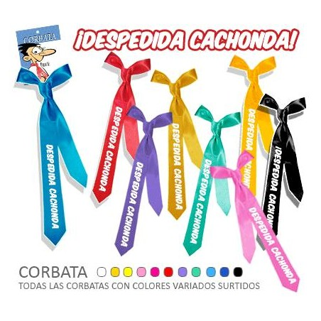 "CORBATA ""DESPEDIDA CACHONDA"""