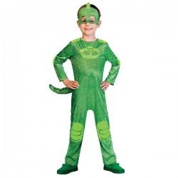 Disfraz de PJ Masks Gekko Verde 3-4 años