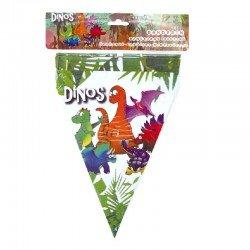 Banderín Dino 3 M.