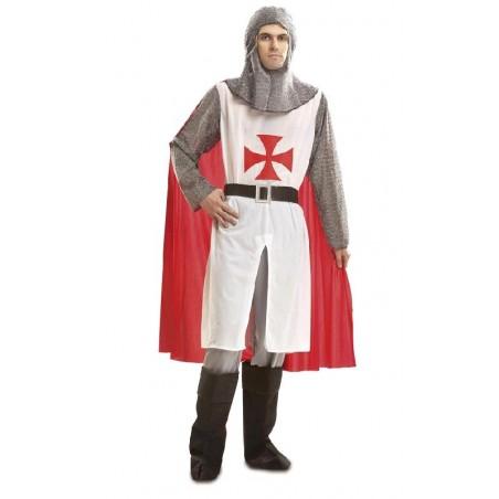 Disfraz de Caballero Medieval Blanco
