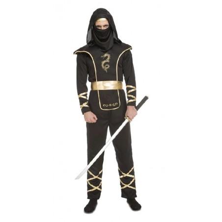 Disfraz de Ninja Negro Hombre