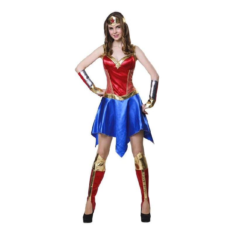 Disfraz de Heroina Poderosa Mujer