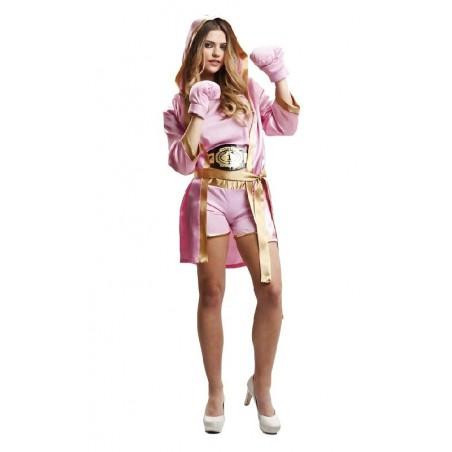Disfraz de Boxeadora Mujer