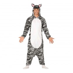Disfraz de Cebra pijama...