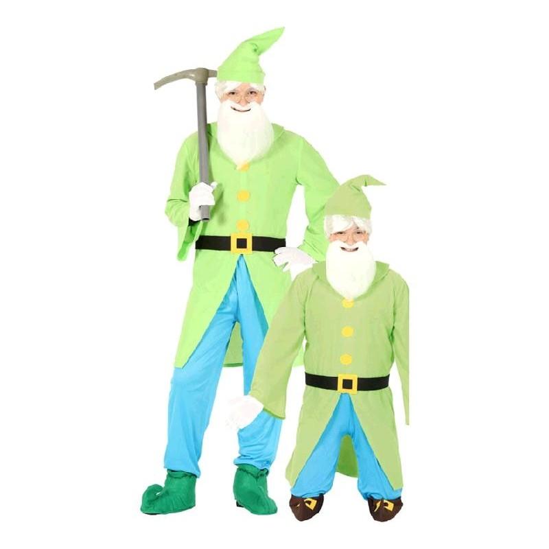 Disfraz de Enanito Verde para hombre