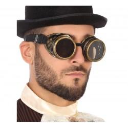 Gafas de Steampunk Doradas