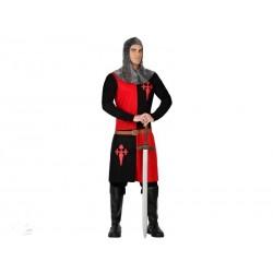 Disfraz Caballero Medieval para hombreXL