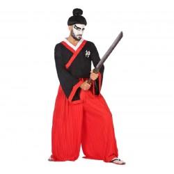 Disfraz de Guerrero Japones para hombre