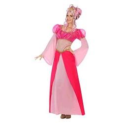 Disfraz de Princesa Rosa ML para mujer