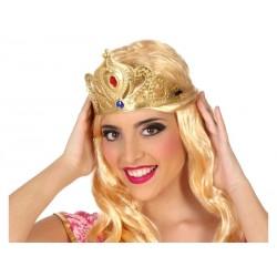 Tiara Dorada Princesa