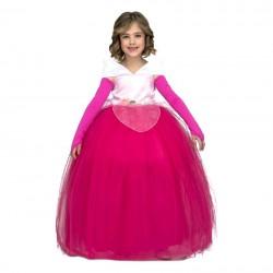 Disfraz de Princesa Rosa Can-Can 5-6