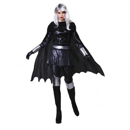 Disfraz de Heroina Tormentosa Mujer T-S
