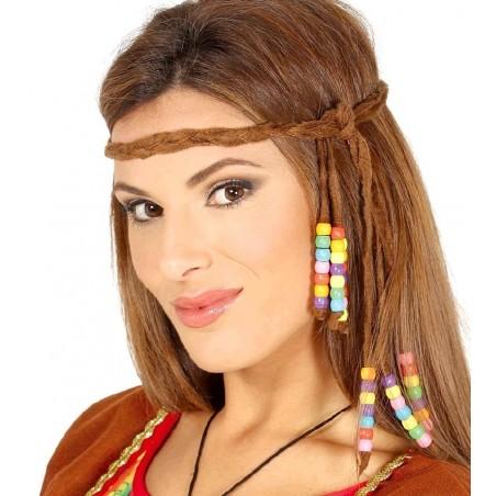 Cinta Hippie con Abalorios