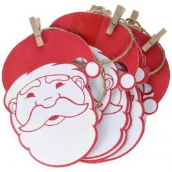 Guirnalda de Papa Noel