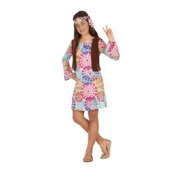 Disfraz de Hippie para niña