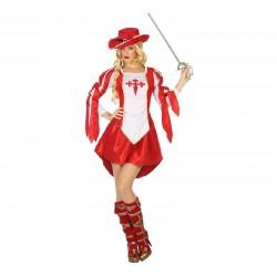 Disfraz de Mosquetera Roja...