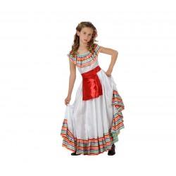 Disfraz de Mejicana para niña