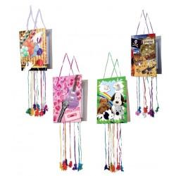 Piñata Cumpleaños Dibujos Surtidos
