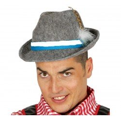 Sombrero de Tiroles Gris