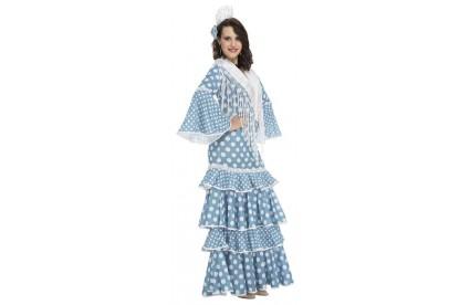 Disfraz de Flamenca Huelva adulto T.S