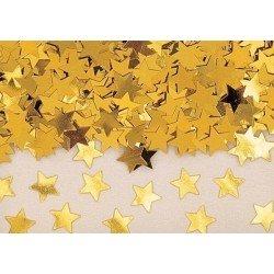 Confeti Estrellas Doradas...