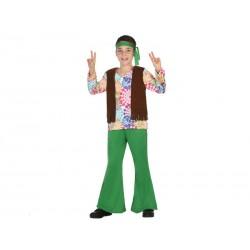 Disfraz de Hippie para niño...