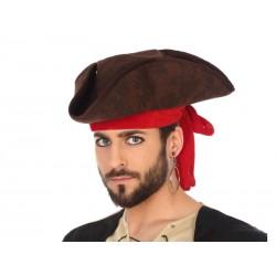 Sombrero de Pirata Tela con...