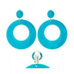 Pendientes Azules de Sevillana