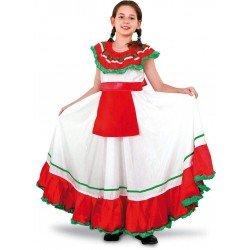 Disfraz de Mejicana para niña 10-12 años