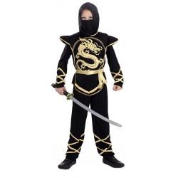 Disfraz de Ninja Dragón para Niño 7-9