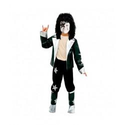Disfraz de Estrella de Rock niño 7-9