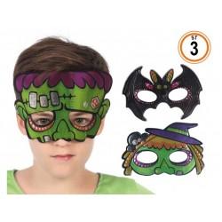 Antifaz Hallowen Infantil 3...