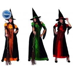 Disfraz de Bruja 3 Colores...