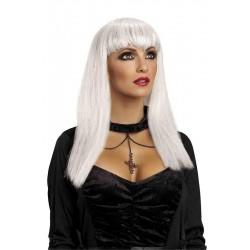 Peluca Blanca de Vampiresa...