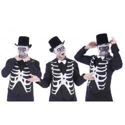 Máscara de  Esqueleto Media...