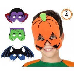 Máscara de Hallowen 4 Surtidas