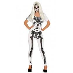 Disfraz de Esqueleto Malla...