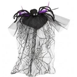 Diadema Araña con Velo