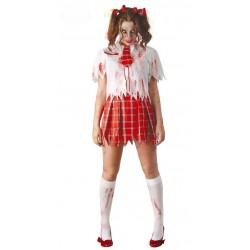 Disfraz Colegiala Zombie...