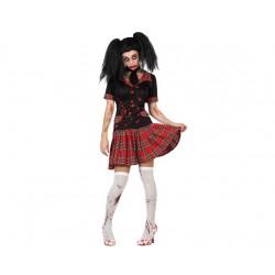 Disfraz de Colegiala Zombie XL