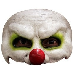 Máscara Payaso 1/2 cara Látex
