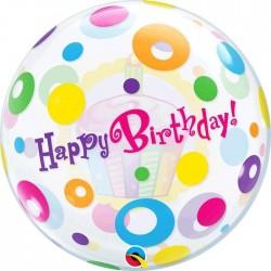 Globo Bubble Happy Birthday...